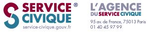 Agence du Service Civique Logo