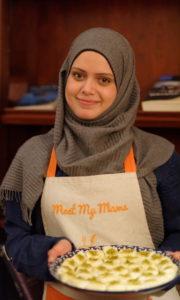 Portrait Mama Marwa + dessert