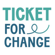 Logo Ticket for Change