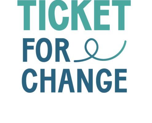 Logo Ticket For Change